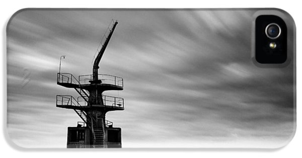 Old Crane IPhone 5s Case by Dave Bowman