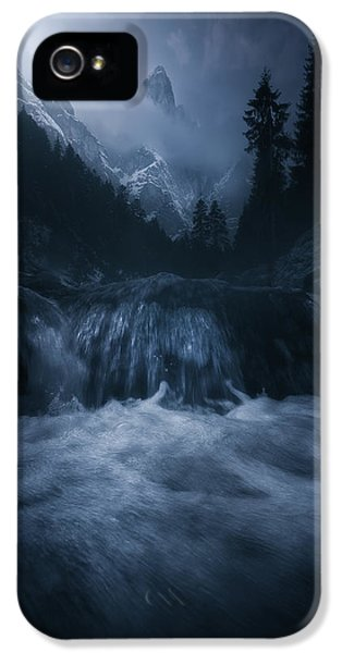 Flow iPhone 5s Case - Old Style Dolomites by Luca Rebustini