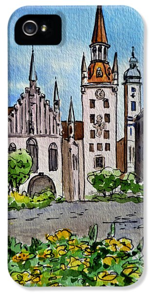 Old Town Hall Munich Germany IPhone 5s Case
