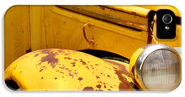 Old Yellow Truck IPhone 5s Case by Art Block Collections