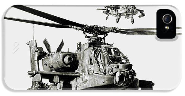 Helicopter iPhone 5s Case - On The Way by Murray Jones