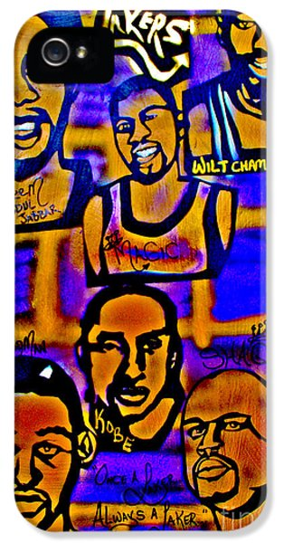 Once A Laker... IPhone 5s Case by Tony B Conscious