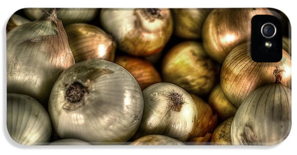 Onions IPhone 5s Case by David Morefield