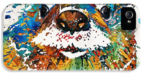 Otter Art - Ottertude - By Sharon Cummings IPhone 5s Case