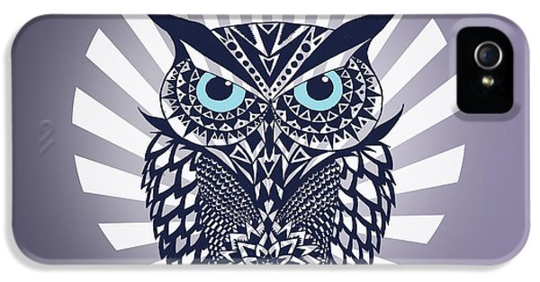 Owl iPhone 5s Case - Owl by Mark Ashkenazi
