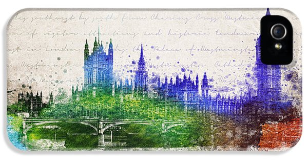 Westminster Abbey iPhone 5s Case - Palace Of Westminster by Aged Pixel