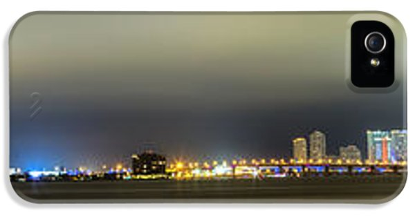Panorama Of Biscayne Bay In Miami Florida IPhone 5s Case
