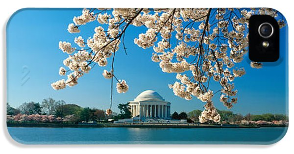 Panoramic View Of Jefferson Memorial IPhone 5s Case