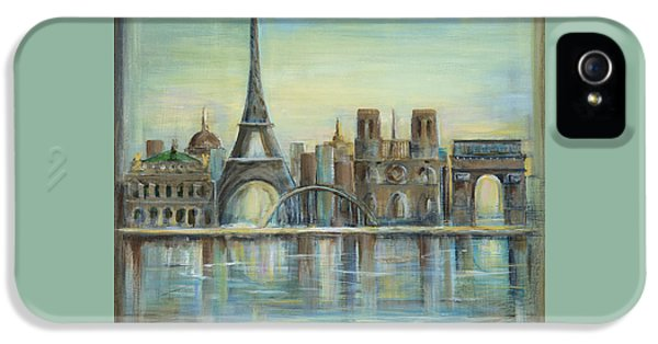 Paris Highlights IPhone 5s Case by Marilyn Dunlap