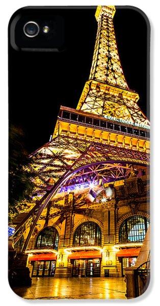 Paris Under The Tower IPhone 5s Case by Az Jackson