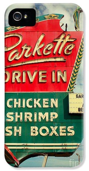 1950s iPhone 5s Case - Parkette Drive-in by Jim Zahniser