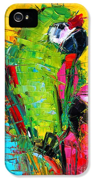 Parrot Lovers IPhone 5s Case by Mona Edulesco