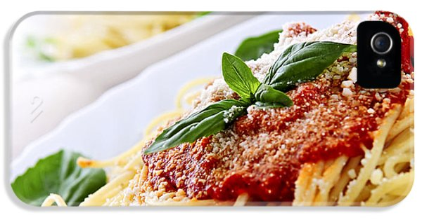Pasta And Tomato Sauce IPhone 5s Case