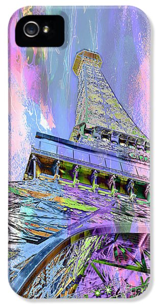 Pastel Tower IPhone 5s Case by Az Jackson