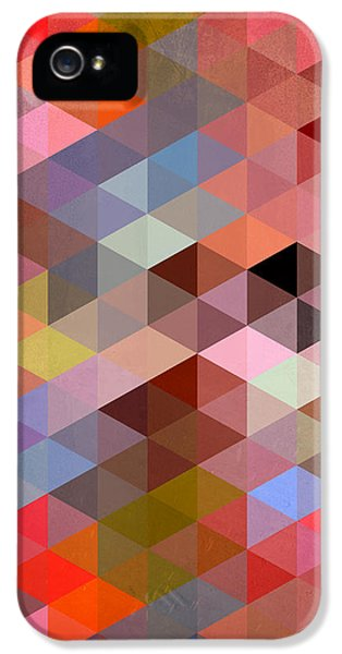 Pattern Of Triangle IPhone 5s Case by Mark Ashkenazi