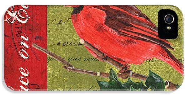 Cardinal iPhone 5s Case - Peace On Earth 2 by Debbie DeWitt