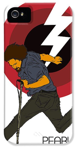 Pearl Jam Lightning Bolt IPhone 5s Case by Tomas Raul Calvo Sanchez