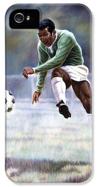 Pele IPhone 5s Case by Gregory Perillo