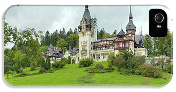 Peles Castle In The Carpathian IPhone 5s Case by Panoramic Images