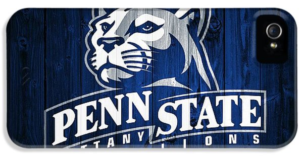 Penn State Barn Door IPhone 5s Case by Dan Sproul