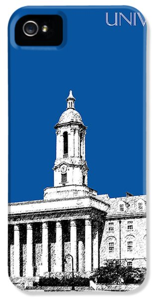 Penn State University - Royal Blue IPhone 5s Case by DB Artist