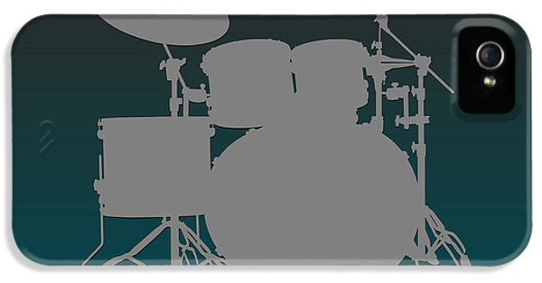 Philadelphia Eagles Drum Set IPhone 5s Case by Joe Hamilton