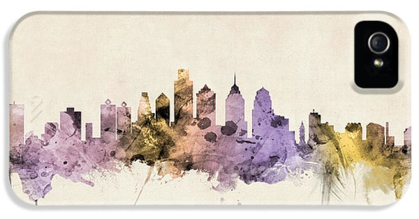 Philadelphia Pennsylvania Skyline IPhone 5s Case by Michael Tompsett