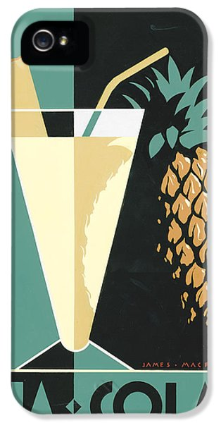 Pina Colada IPhone 5s Case by Brian James