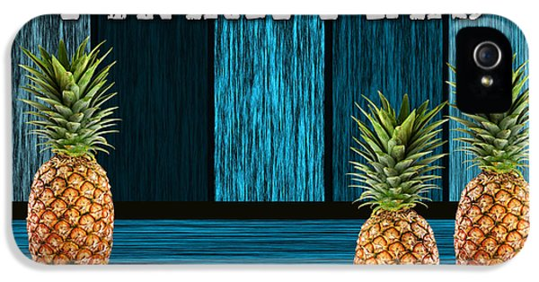 Pineapple Farm IPhone 5s Case by Marvin Blaine