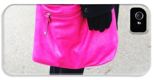 Pink Shoulder Bag IPhone 5s Case
