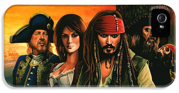 Pirates Of The Caribbean  IPhone 5s Case by Paul Meijering