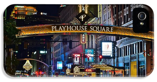 Playhouse Square IPhone 5s Case by Frozen in Time Fine Art Photography