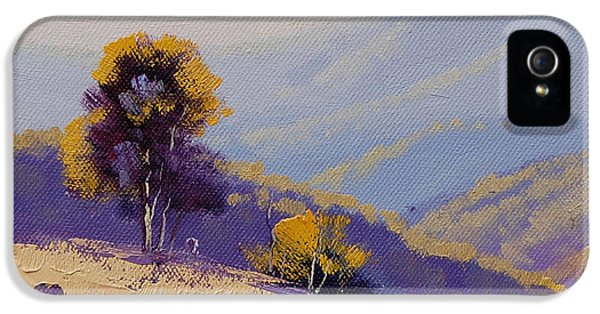 Rural Scenes iPhone 5s Case - Plein Air  Study by Graham Gercken