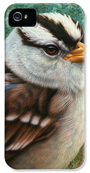 Portrait Of A Sparrow IPhone 5s Case
