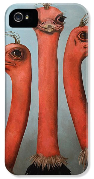 Posers 2 IPhone 5s Case by Leah Saulnier The Painting Maniac