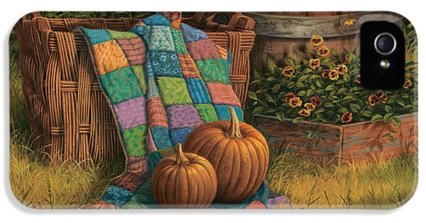 Pumpkins And Patches IPhone 5s Case