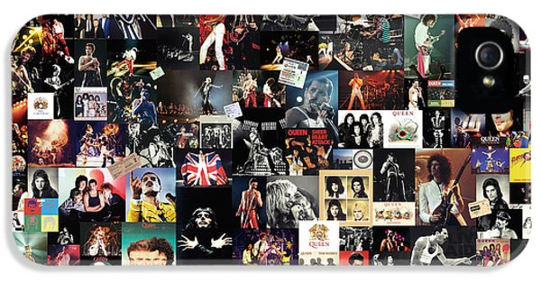 Led Zeppelin iPhone 5s Case - Queen Collage by Zapista