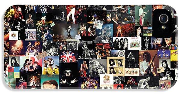 Queen Collage IPhone 5s Case