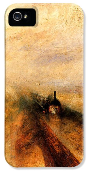 Rain Steam And Speed.  IPhone 5s Case