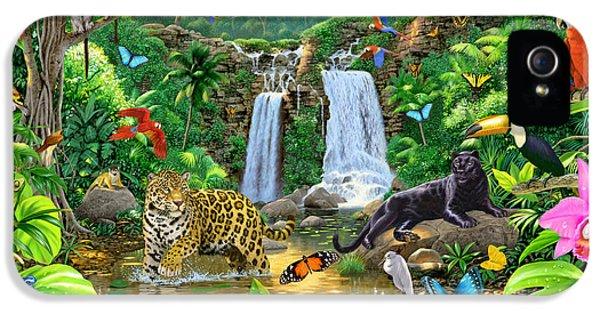 Rainforest Harmony Variant 1 IPhone 5s Case by Chris Heitt