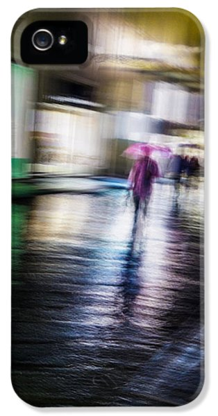 IPhone 5s Case featuring the photograph Rainy Streets by Alex Lapidus