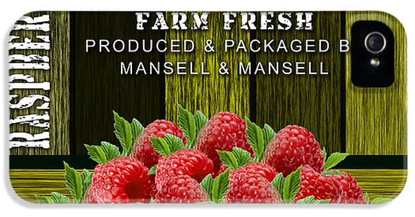 Raspberry Fields IPhone 5s Case by Marvin Blaine