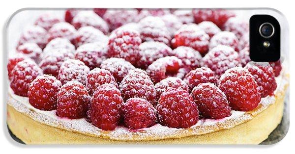 Raspberry iPhone 5s Case - Raspberry Tart by Elena Elisseeva