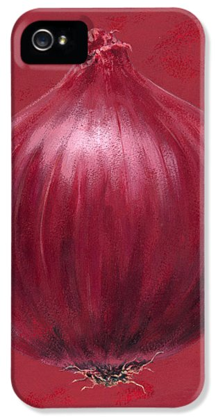 Red Onion IPhone 5s Case