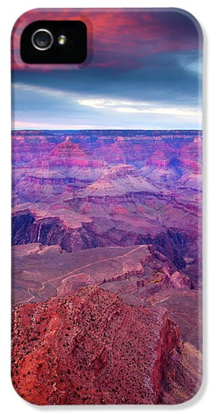 Red Rock Dusk IPhone 5s Case by Mike  Dawson