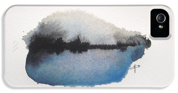 Abstract iPhone 5s Case - Reflection In The Lake by Vesna Antic