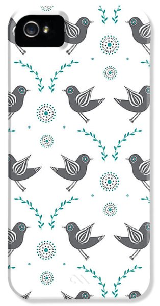 Lovebird iPhone 5s Case - Repeat Lovebird by Susan Claire