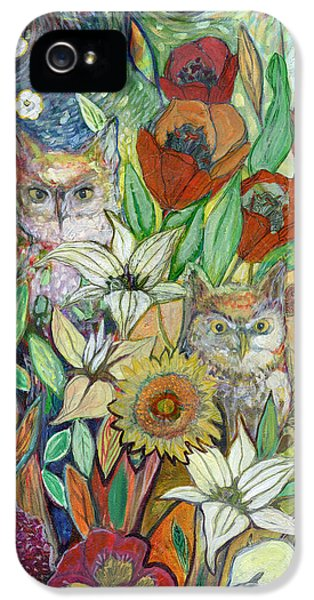 Tulip iPhone 5s Case - Returning Home To Roost by Jennifer Lommers