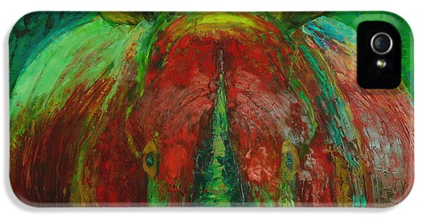Rhinocerus IPhone 5s Case by Magdalena Walulik