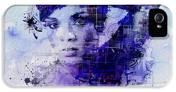 Rihanna 2 IPhone 5s Case by Bekim Art